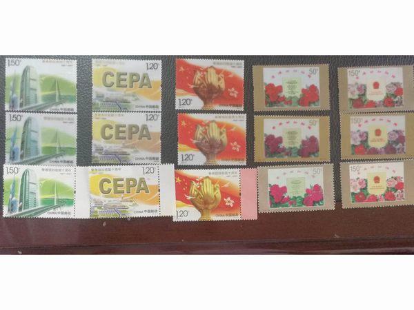 邮电总局香港回归十周年纪念邮票定制案例
